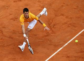 Djokovic (pictured), like Murray, has been imperious on clay this season