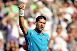 Eastbourne winner Novak Djokovic represents the outright value...
