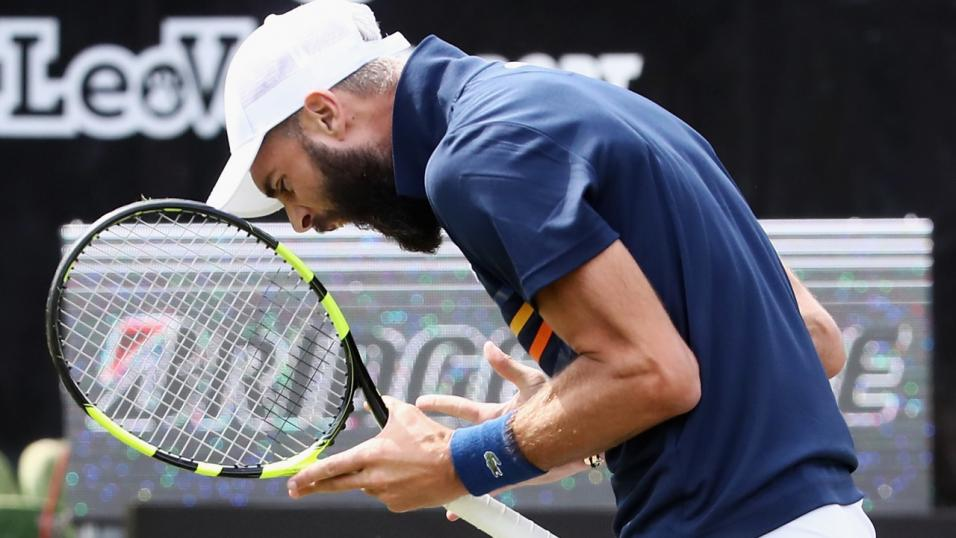 French Tennis Player Benoit Paire