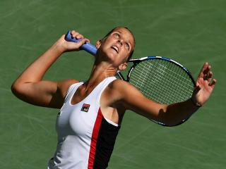 Karolina Pliskova has a big return edge over Coco Vandeweghe...