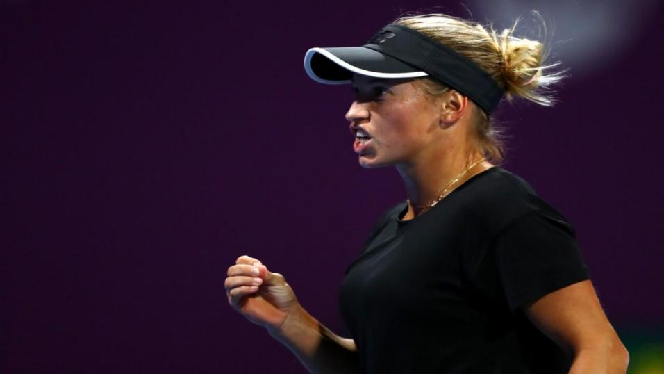 Russian Tennis Player Yulia Putintseva