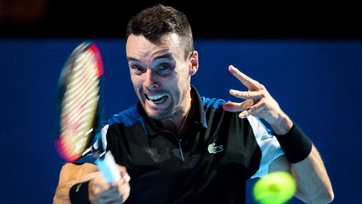 Spanish Tennis Player Roberto Bautista-Agut