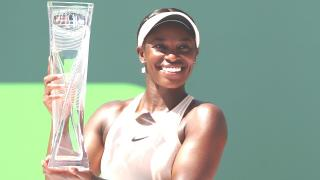 WTA Tour Miami Open Sloane Stephens