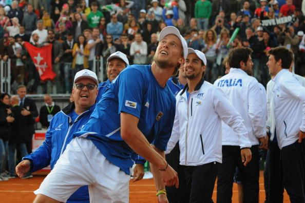 Will Seppi be celebrating again today?
