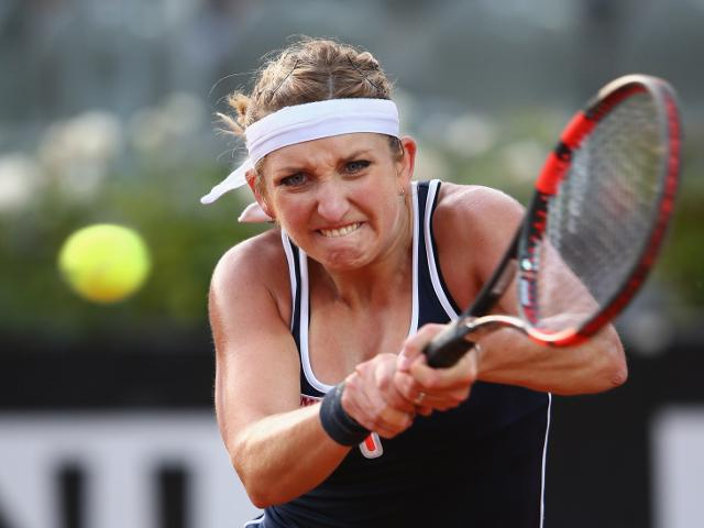 Timea Bacsinszky has dominated opponents so far at the French Open...