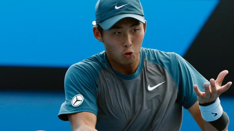 Chinese Tennis Player Ze Zhang