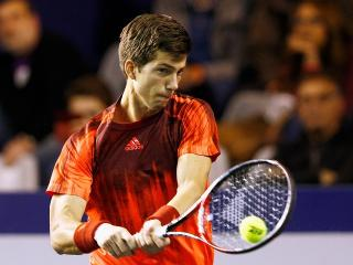 Rapidly improving - Aljaz Bedene has hit a career high ranking