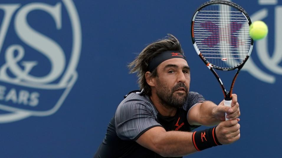 Cypriot Tennis Player Marcos Baghdatis
