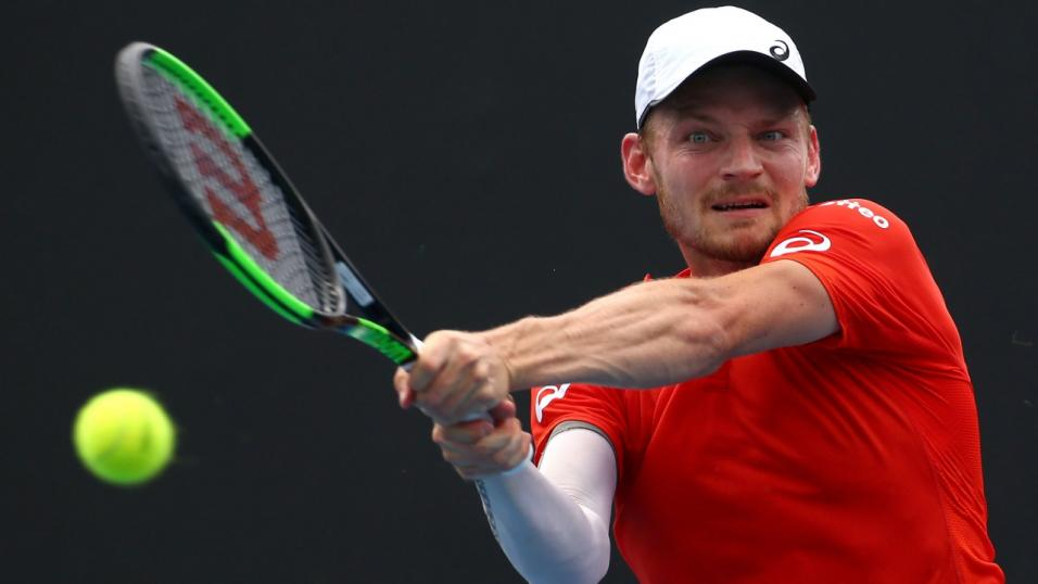 Belgian Tennis Player David Goffin