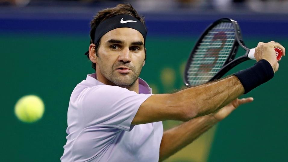Roger Federer is a heavy favourite for the tournament opener this afternoon...