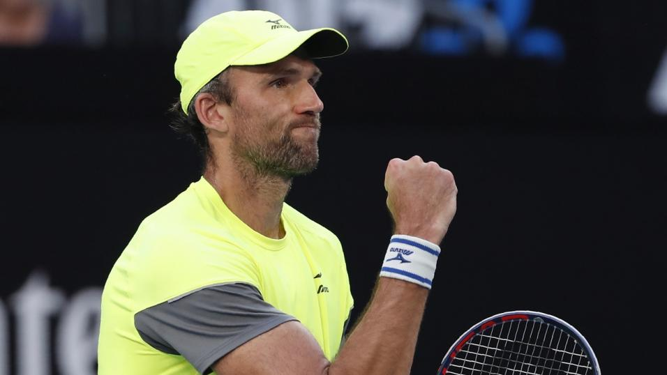 Croatian Tennis Player Ivo Karlovic