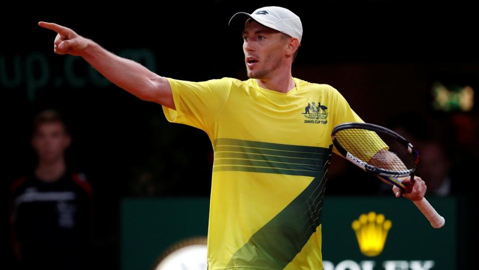 Australian Tennis Player John Millman