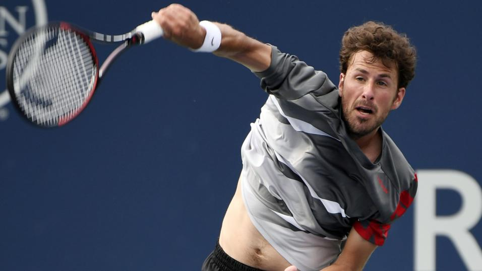 Dutch Tennis Player Robin Haase