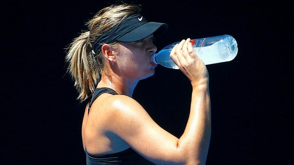 Maria Sharapova is fancied to get the better of Angelique Kerber at the Aussie Open
