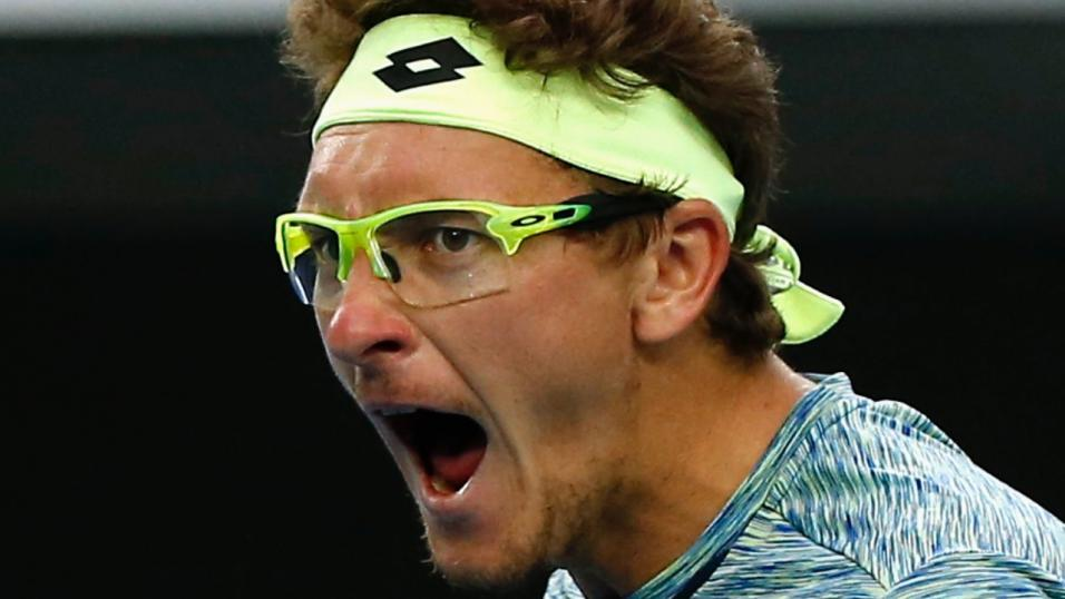 Uzbek Tennis Player Denis Istomin