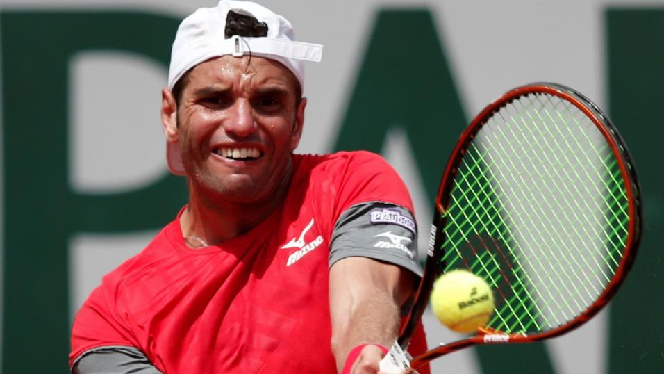 Tunisian Tennis Player Malek Jaziri