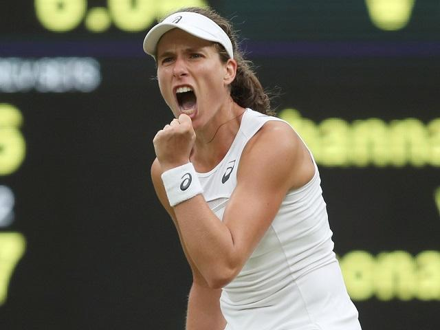Iron will - Johanna Konta has fought through more than 10 hours of tennis