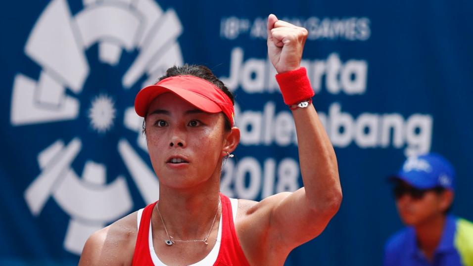 Chinese Tennis Player Qiang Wang