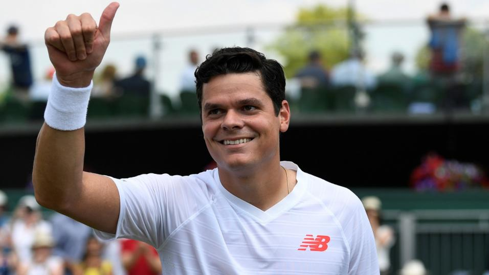 Canadian Tennis Player Milos Raonic