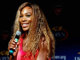 Serena has a favourable draw and will look to retain her title...