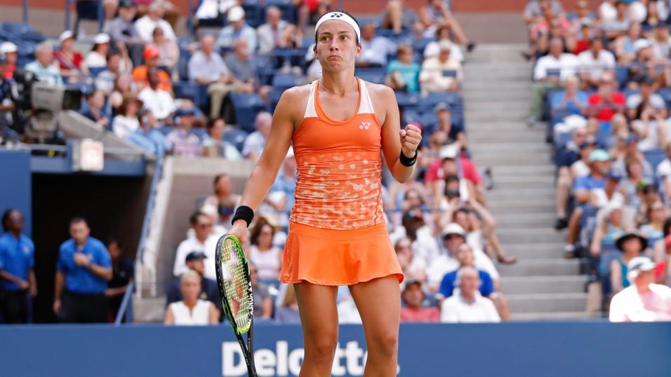 Latvian Tennis Player Anastasia Sevastova