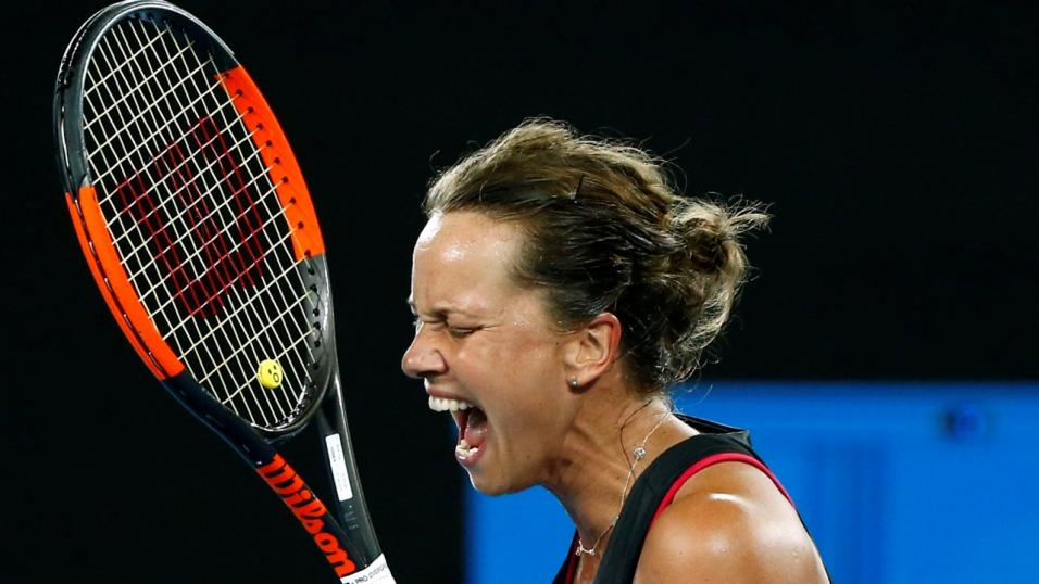Czech Tennis Player Barbora Strycova