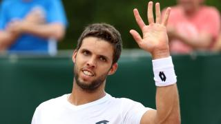 Czech Tennis Player Jiri Vesely