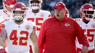 Chiefs head coach Andy Reid