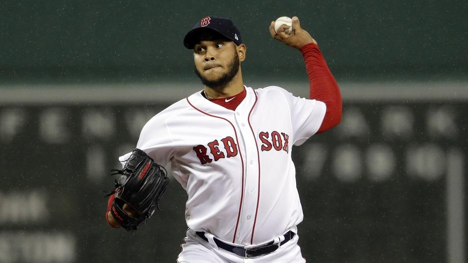 Eduardo Rodriguez of the Boston Red Sox