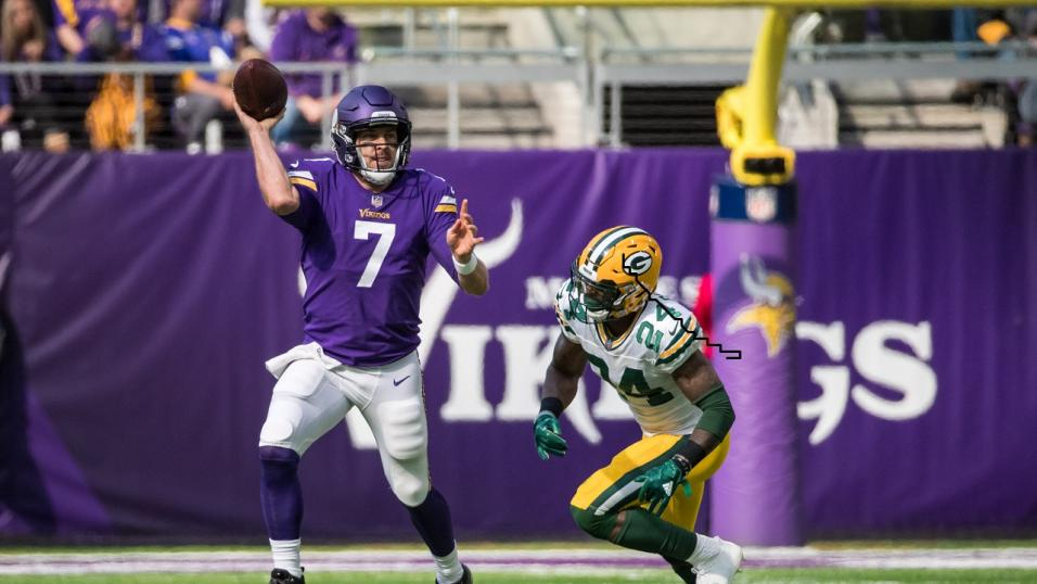 Case Keenum is having his best ever year in the NFL