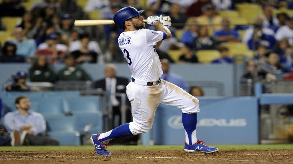 Chris Taylor of the LA Dodgers
