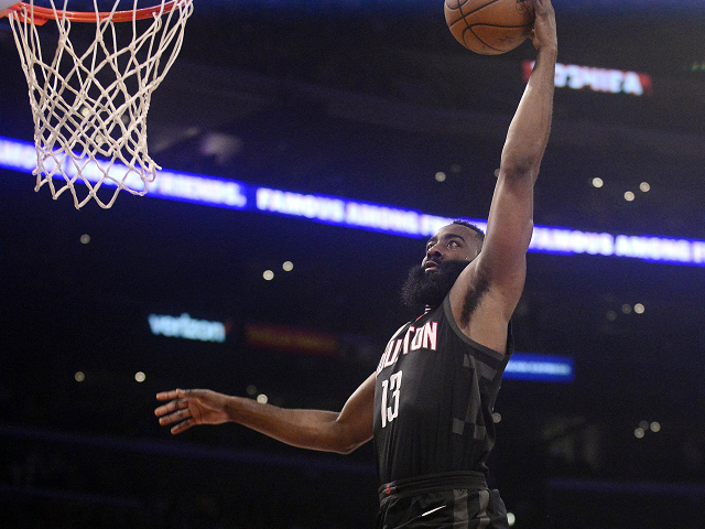 Harden soaring in another MVP challenge as Rockets aim for title