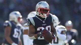 New England running back James White