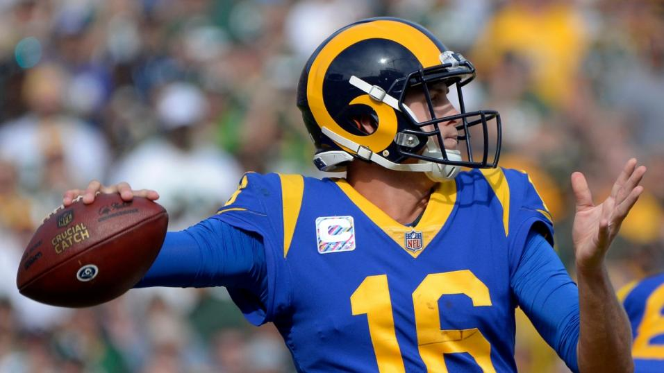 07fdd6904e3 Battering Ram  Jared Goff can once again find his targets for an  adrenaline-pumping performance