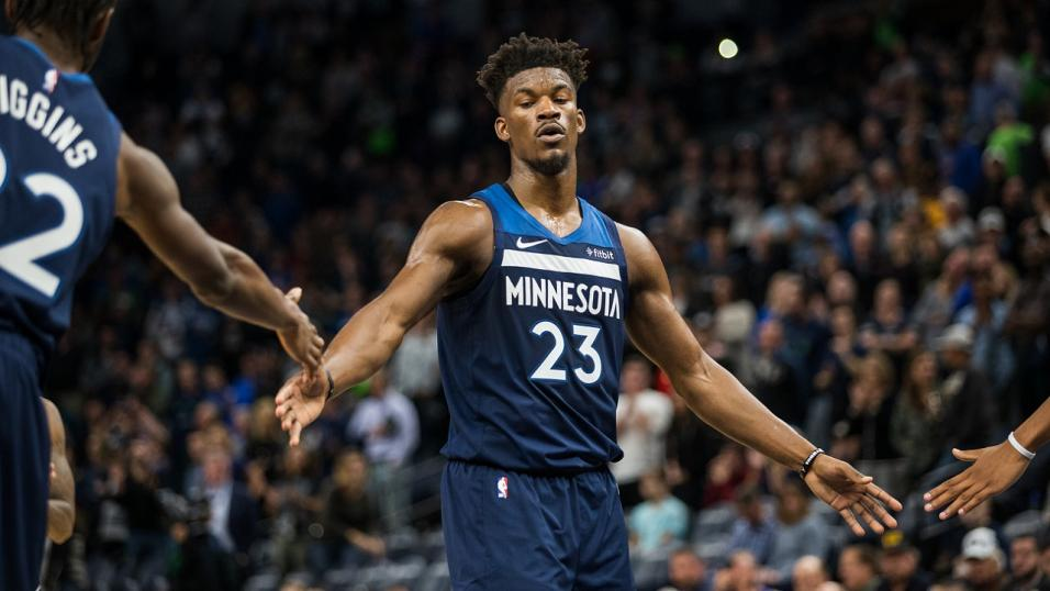 Jimmy Butler of the Minnesota Timberwolves