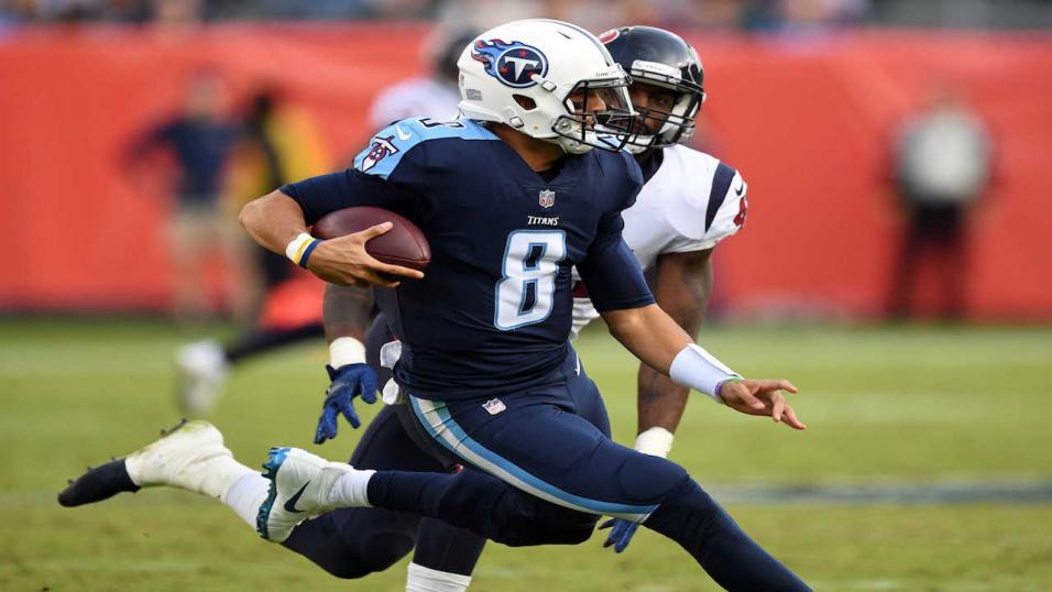 Marcus Mariota can run wild against New England