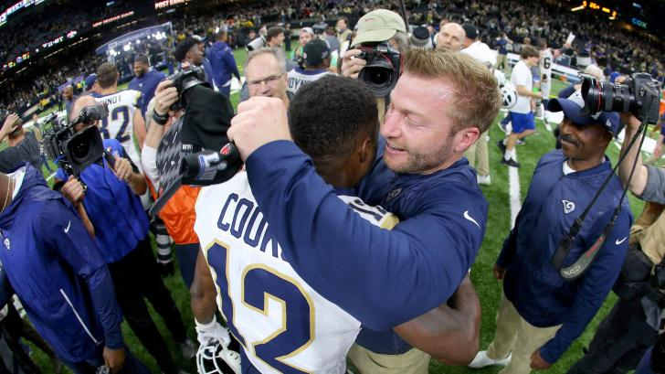 LA Rams coach Sean McVay