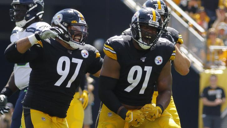 Cam Heyward and Stephon Tuitt