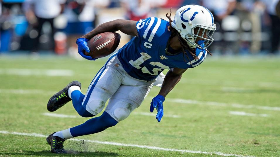 Ty Hilton of Indianapolis Colts