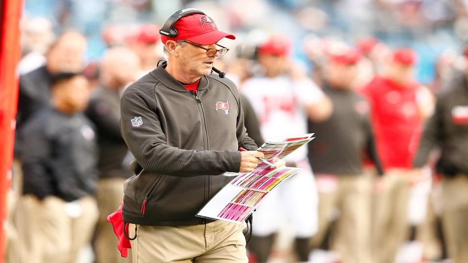 Can Tamp head coach Dirk Koetter (above) mastermind victory against the Saints?