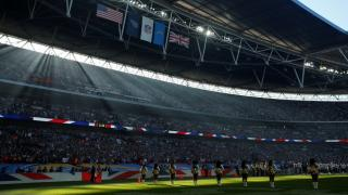 Wembley plays host to NFL matches