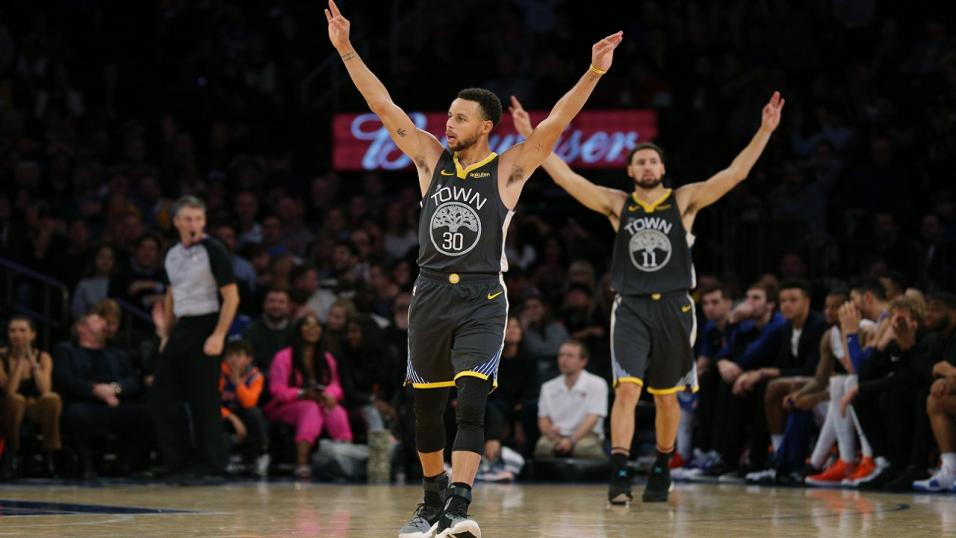 Golden State Warriors are tearing up the league