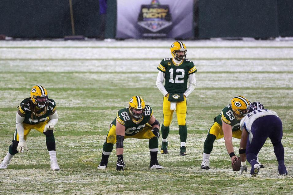 Green Bay Packers in NFL action