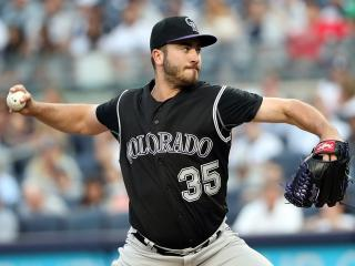 The excellent Chad Bettis will be pitching for the Colorado Rockies tonight