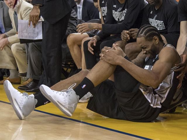 Kawhi Leonard will be a big miss in Game 2 for San Antonio Spurs