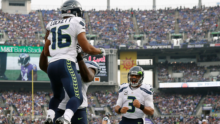 Russell Wilson and Tyler Lockett