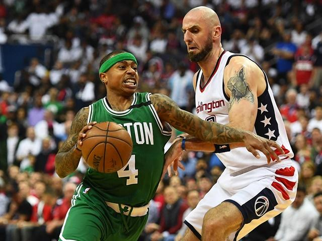 The Wizards travel to Boston for Game 5