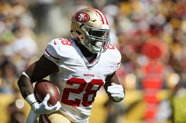 If the 49ers are going to win, Carlos Hyde has to carry the load
