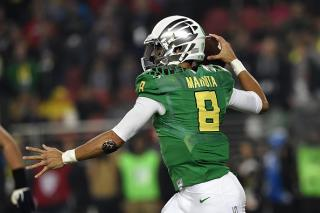 Marcus Mariota can carry Oregon to victory in the Rose Bowl